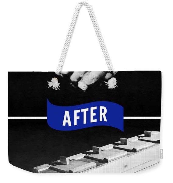 Never Give A Germ A Break Weekender Tote Bag