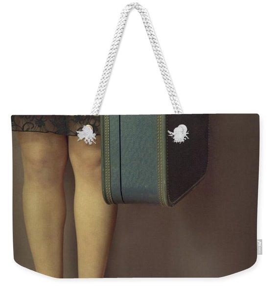Never To Look Back Weekender Tote Bag