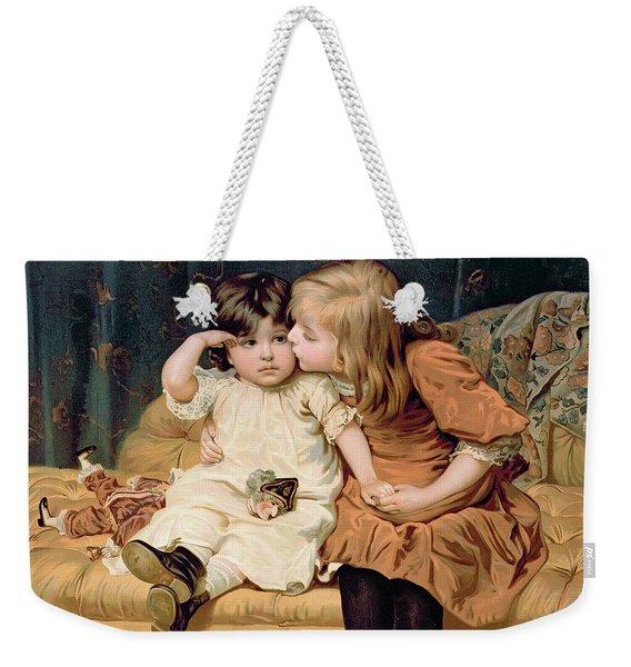 Nevermind Weekender Tote Bag