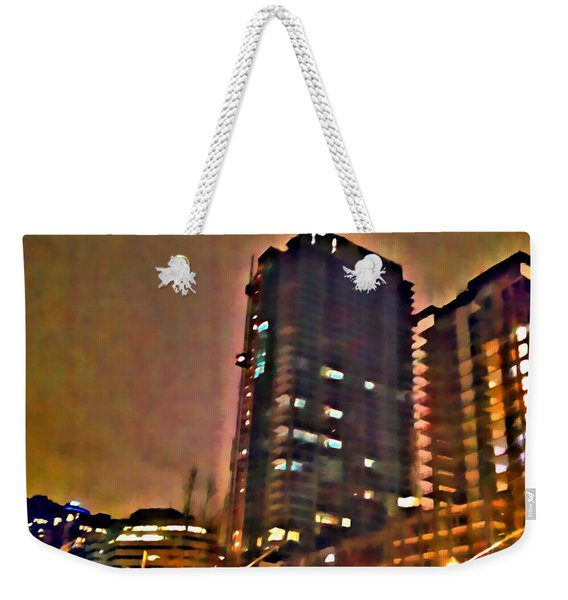 New Construction 2 Weekender Tote Bag