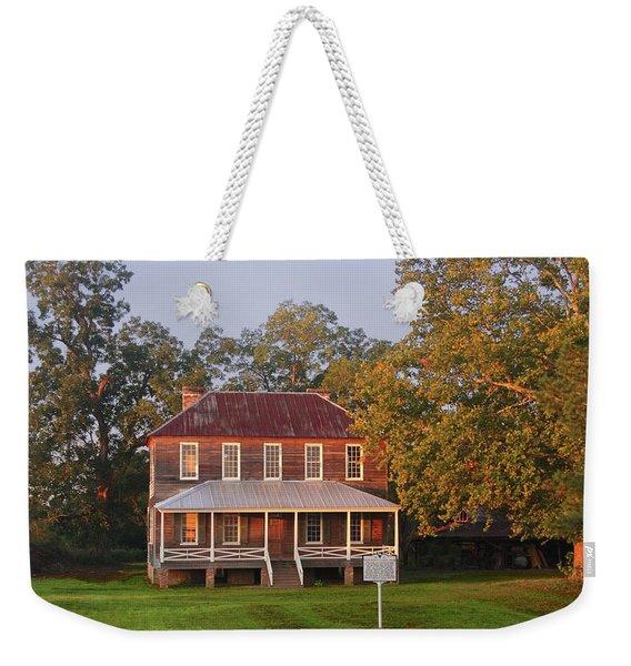 New Dawn On Old House Weekender Tote Bag