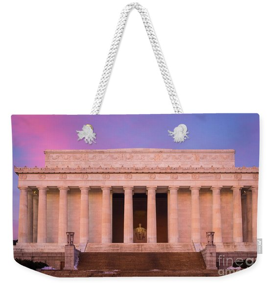 New Day At The Lincoln Memorial Weekender Tote Bag