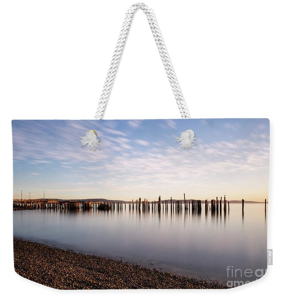 New Day In The Bay Weekender Tote Bag