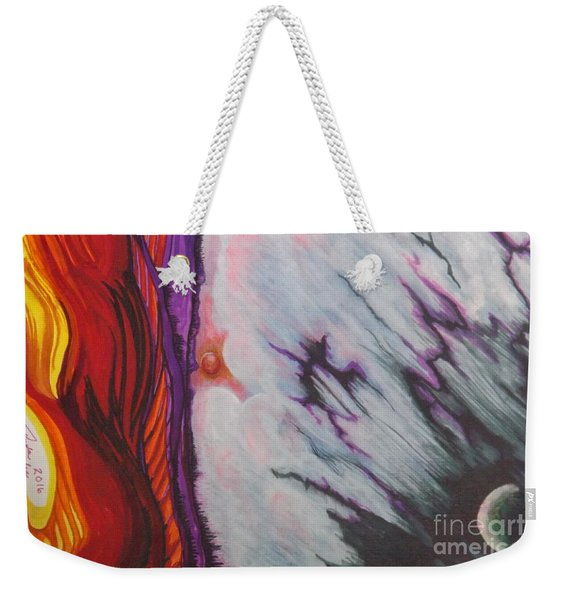 New Earth Weekender Tote Bag