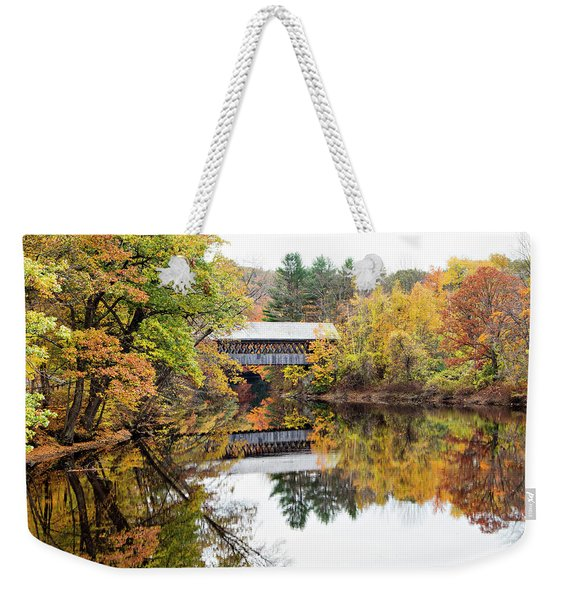 New England Covered Bridge No.63 Weekender Tote Bag