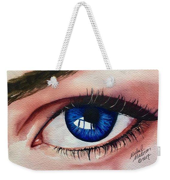 New Eyes Weekender Tote Bag