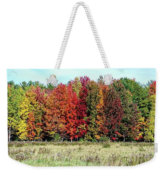 New Hampshire's True Colors Weekender Tote Bag
