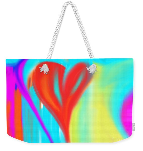 New Heart Weekender Tote Bag