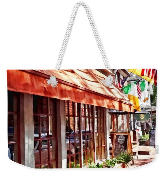 New Hope Pa - Outdoor Seating Now Open Weekender Tote Bag