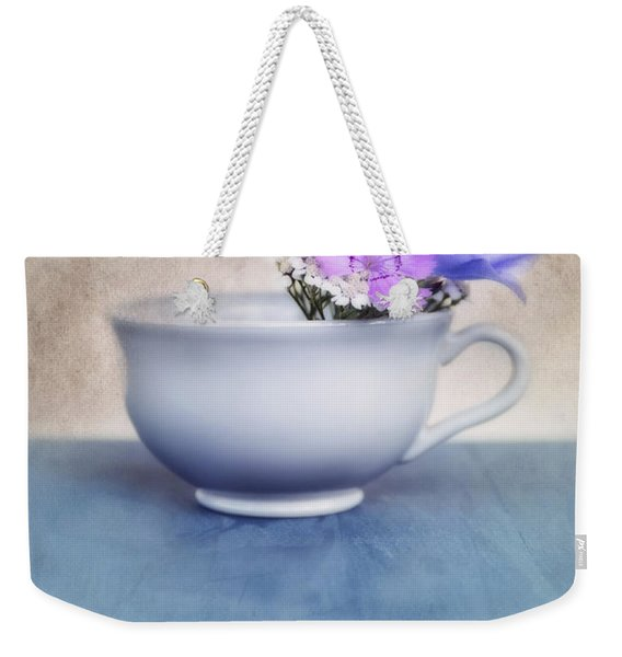 New Life For An Old Coffee Cup Weekender Tote Bag