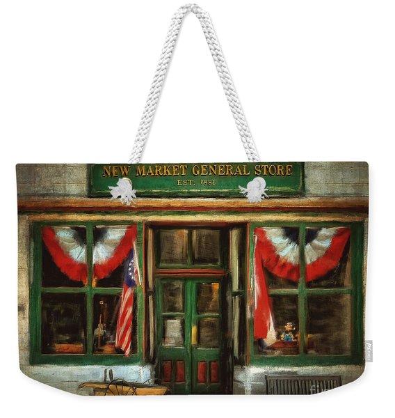 New Market General Store Weekender Tote Bag
