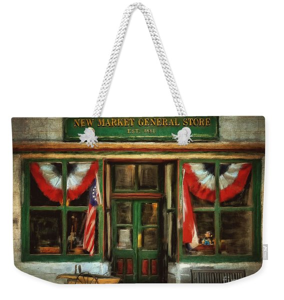 New Market General Store Weekender Tote Bag