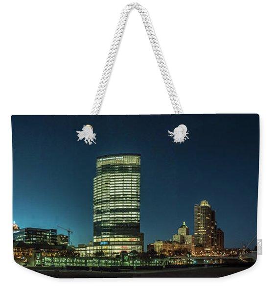 New Milwaukee Skyline Weekender Tote Bag