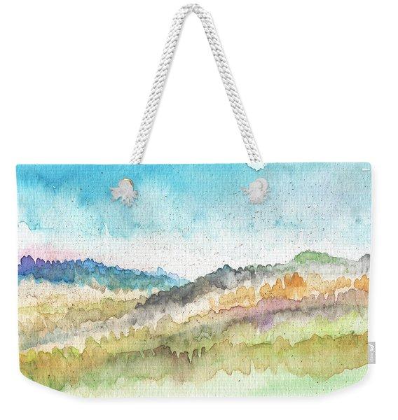 New Morning- Watercolor Art By Linda Woods Weekender Tote Bag