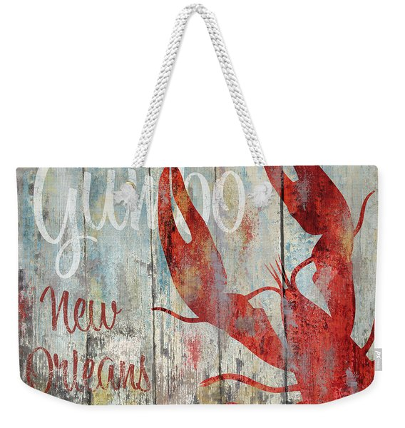New Orleans Gumbo Weekender Tote Bag