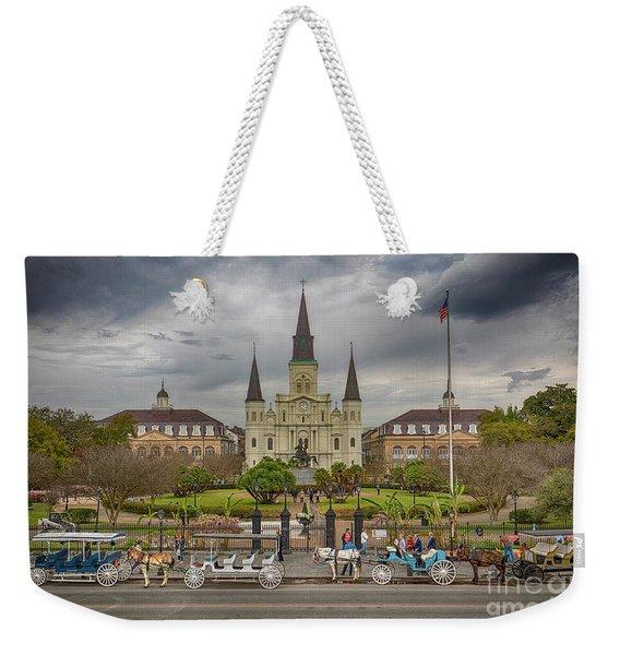 New Orleans Jackson Square Weekender Tote Bag