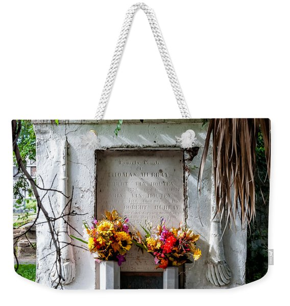 New Orleans Tomb-odd Fellows Rest Weekender Tote Bag