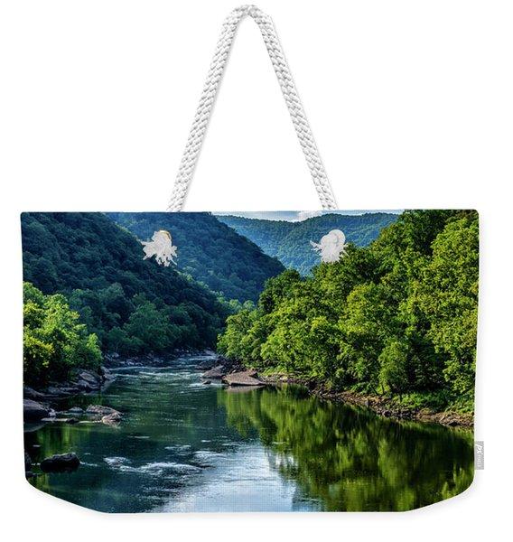 New River Gorge National River 3 Weekender Tote Bag