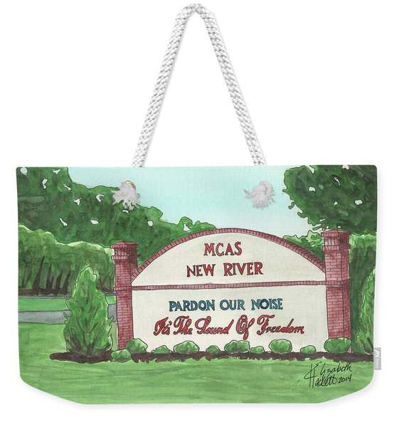 New River Welcome Weekender Tote Bag