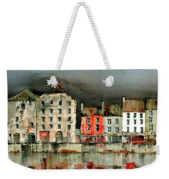 New Ross Quays Panorama Weekender Tote Bag