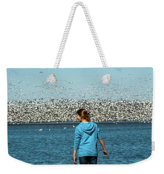 New Upload Weekender Tote Bag
