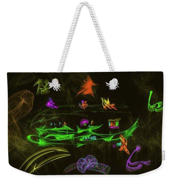 New Wold #g9 Weekender Tote Bag