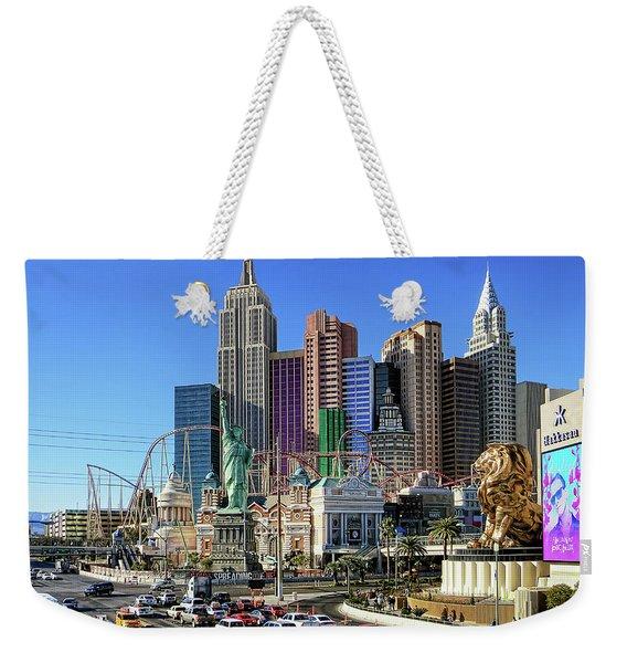 New York , New York Weekender Tote Bag