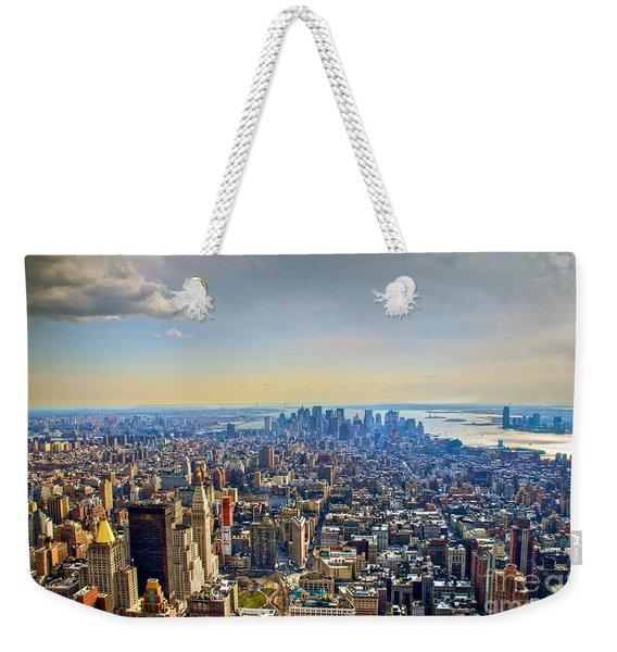 New York City - Manhattan Weekender Tote Bag