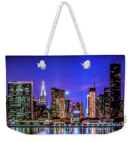New York City Shine Weekender Tote Bag