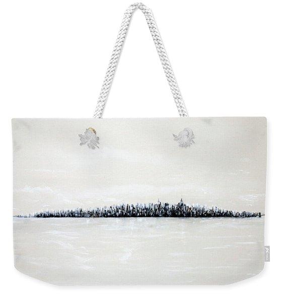 New York City Skyline 48 Weekender Tote Bag