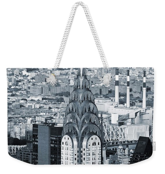 New York City - Usa - Chrysler Building Weekender Tote Bag