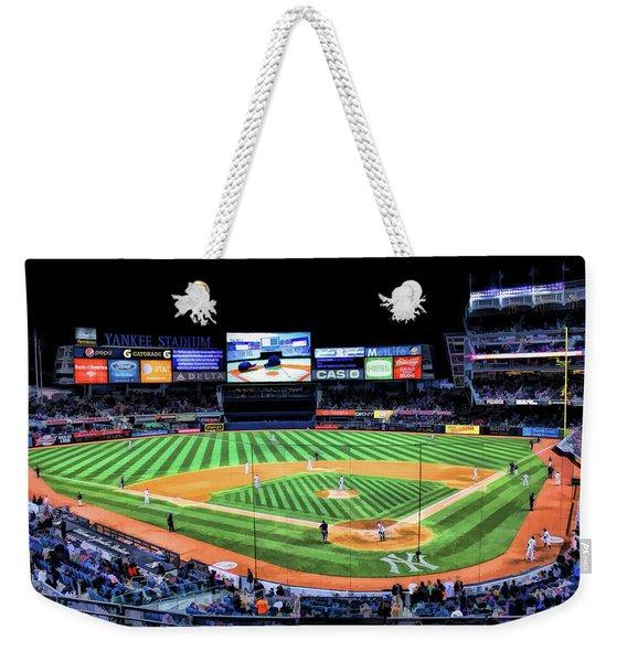 New York City Yankee Stadium Weekender Tote Bag
