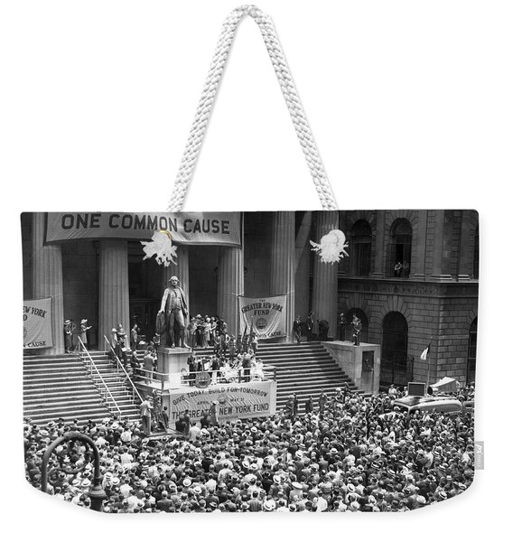 New York Fund Raiser Weekender Tote Bag