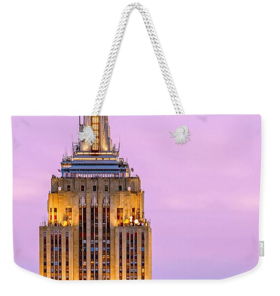 New York Giants Weekender Tote Bag