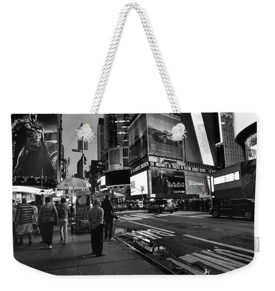 Weekender Tote Bag featuring the photograph New York, New York 1 by Ron Cline