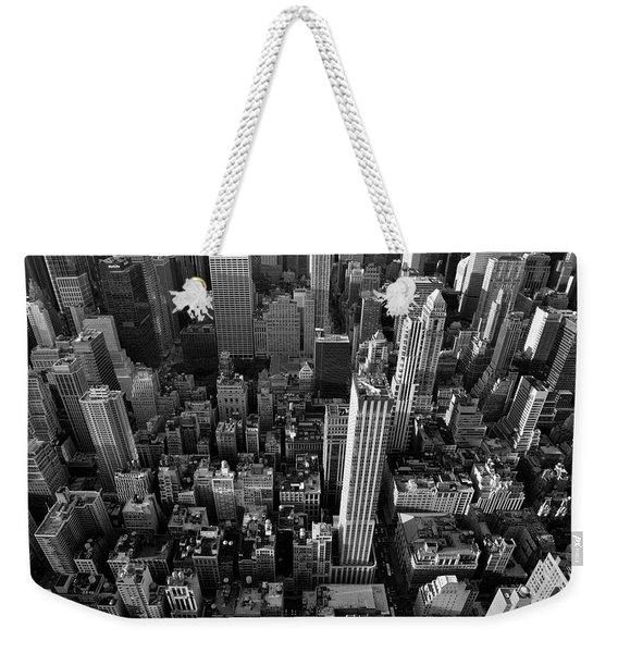 Weekender Tote Bag featuring the photograph New York, New York 5 by Ron Cline