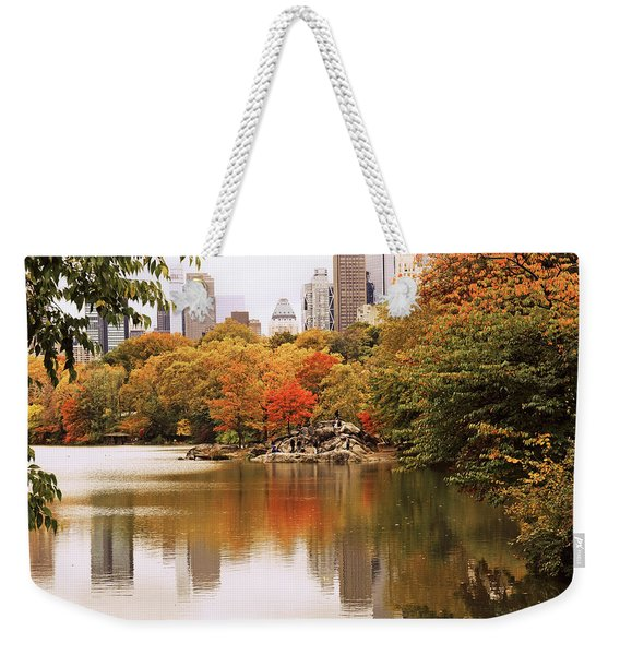 New York Reflections Weekender Tote Bag