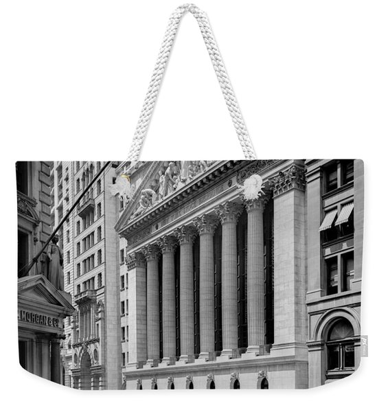 New York Stock Exchange Circa 1904 Weekender Tote Bag