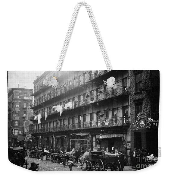 New York: Tenements, 1912 Weekender Tote Bag