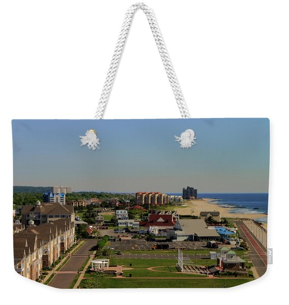 New York View Weekender Tote Bag