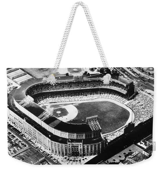 New York: Yankee Stadium Weekender Tote Bag