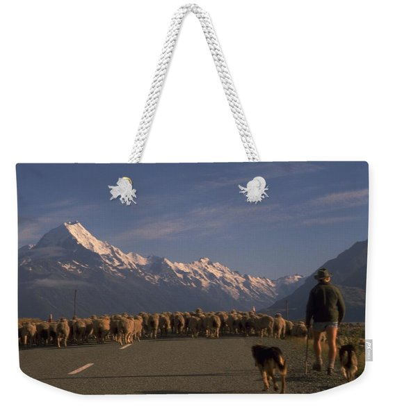 New Zealand Mt Cook Weekender Tote Bag