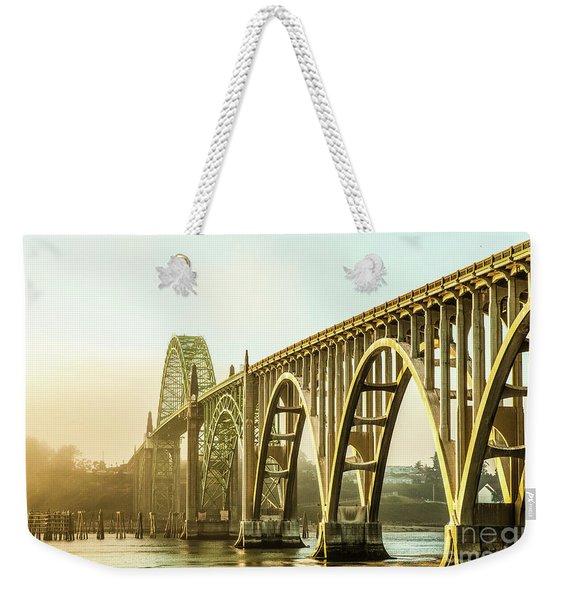 Newport Bridge Weekender Tote Bag