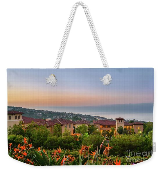 Newport Morning Weekender Tote Bag
