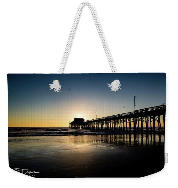 Newport Pier Weekender Tote Bag