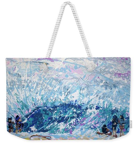 Newport Wedge Weekender Tote Bag