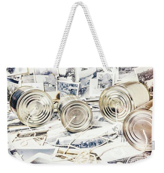 News Room Switchboard Weekender Tote Bag