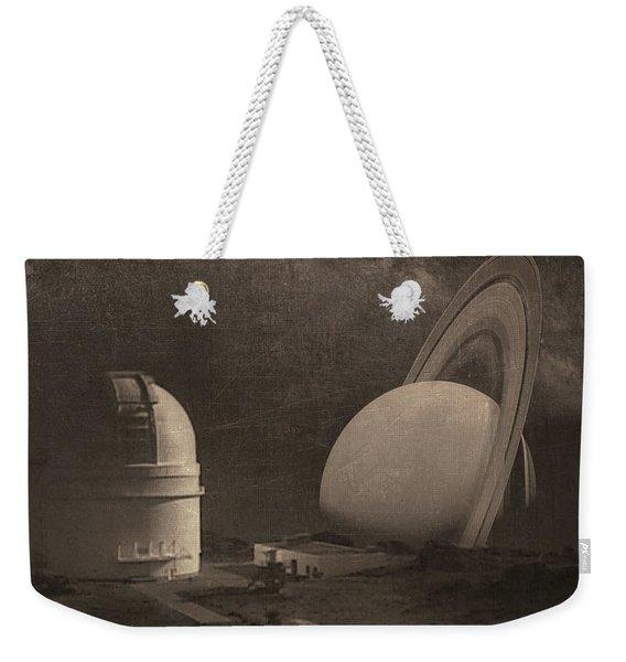 Next Universe Over Weekender Tote Bag