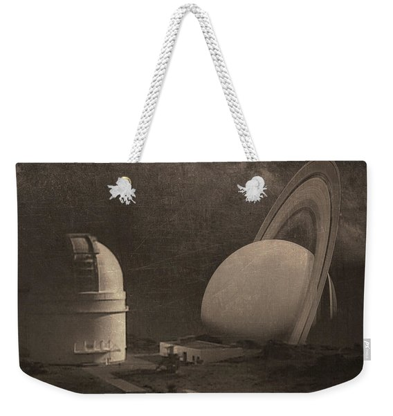 Next Universe Over Weekender Tote Bag