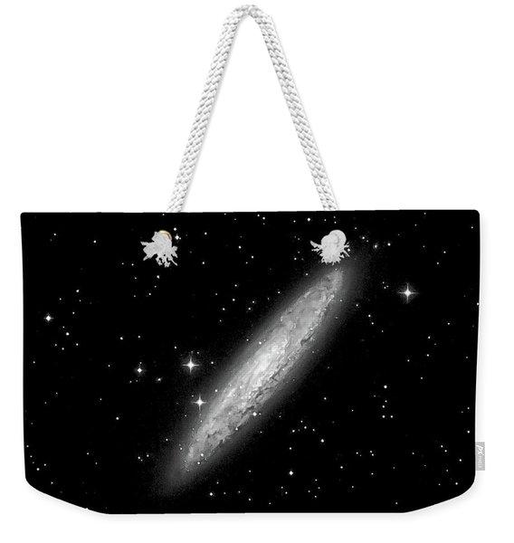 Ngc253 The Sculptor Galaxy Weekender Tote Bag